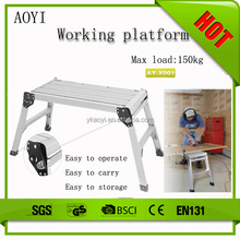 AY new invention 2015 multipurpose construction platform step ladder for car and motorcycle