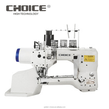 Golden Choice GC6200DN Direct Drive 4 needle 6 thread Single / Double Cutter Flat Seam Industrial Sewing Machine