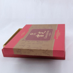 Shipping Packing Corrugated paper cd replication box