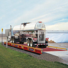 Weigh bridge scale for truck