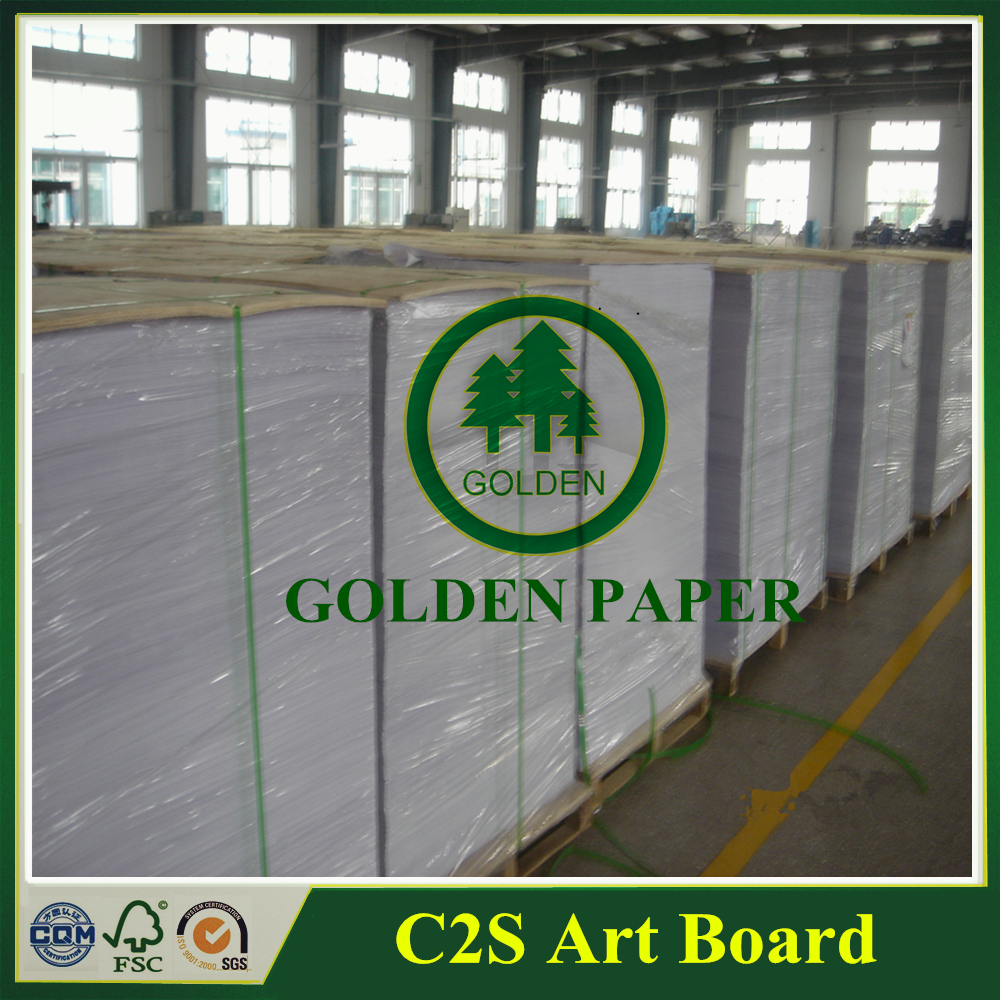 Two side coated gloss paper C2S Art Paper/Art Board 300gsm 210gsm 230gsm 250gsm 350gsm