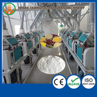 100t per day wheat domestic flour mill in india from china