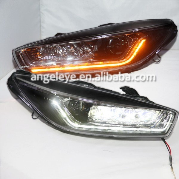 2015 Year For Chevrolet Cruze LED Strip Head Lamp Double Color TLZ