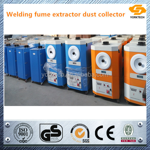 Portable mobile welding fume smoke dust collectors