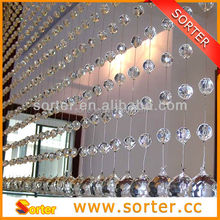 new design crystal bead curtain for home