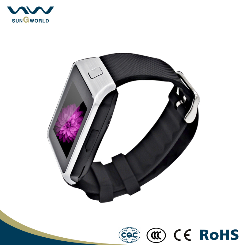 Shenzhen cheap W02Z watch smart bracelet MTK 6261 GSM wrist smart watch phone dz09 bluetooth smart watch