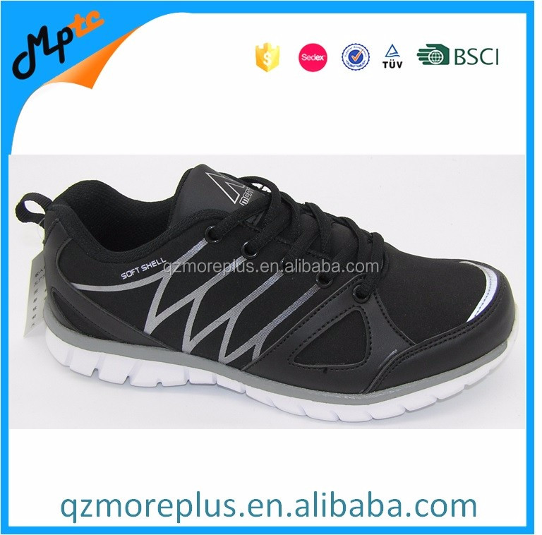 Softshell rubber printing upper Sport Shoes For Men and women