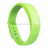 Manufacturer customized Promotional Cheap Wrist Band Sport Silicone LED Watch
