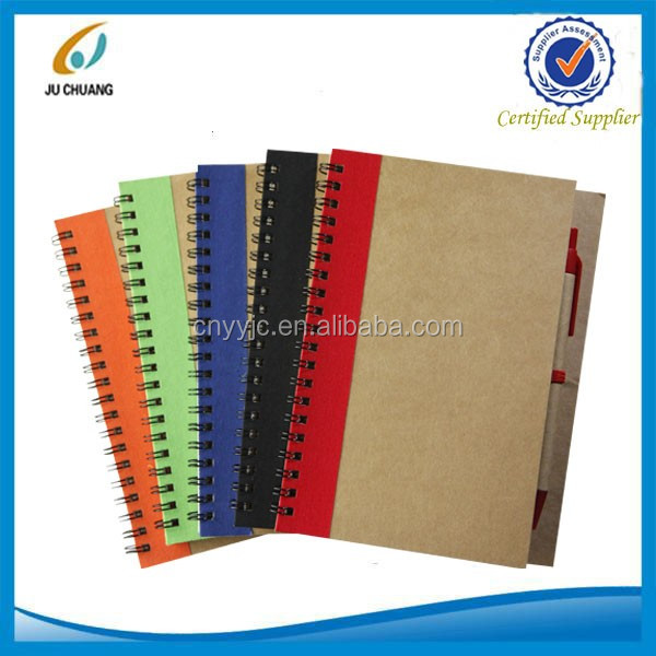 Recycled notebook in bulk