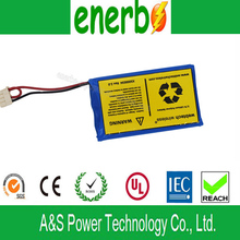 Lithium Ion Polymer Rechargeable Batteries for Electric vehicle toys