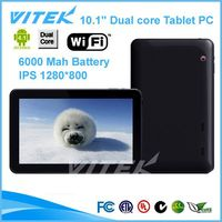 China A20 Dual core 1280*800 IPS Panel Tablet PC 10 Inch