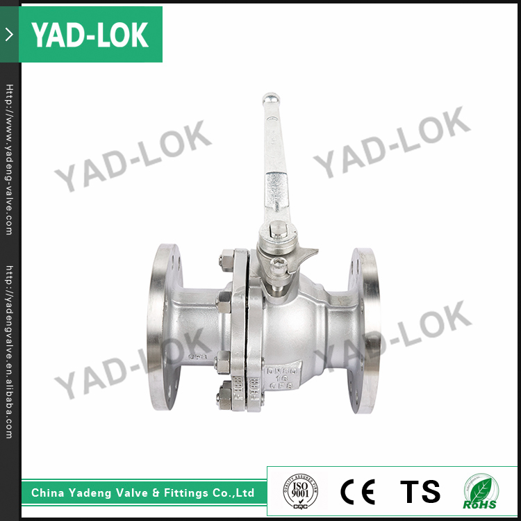 YAD-LOK Low Temperature Floating Type Full Bore Cast Steel Flange End SS Ball Valve