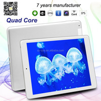 Alibaba cheapest android phone 9.7 inch A33 quad core android 4.4 tablet 16GB rom IPS screen black cover tab