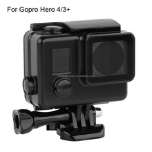 Camera Accessories Black Version 30M Waterproof Housing Case for GoPro Hero 4/3+/3 with Bracket