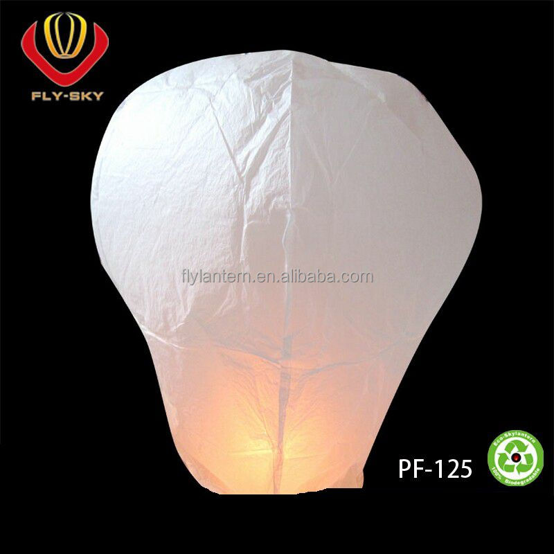 Wholesale paper sky lamp flying paper wish lantern Chinese sky lanterns hot air balloons