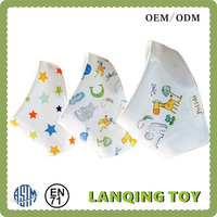 Baby Stay Dry Dribble Bandana Bibs Triangle Cartoon Baby Bibs