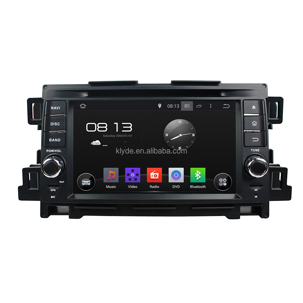 Car multimedia auto radios with DVD player GPS navigation for Mazda CX-5 2012-2013
