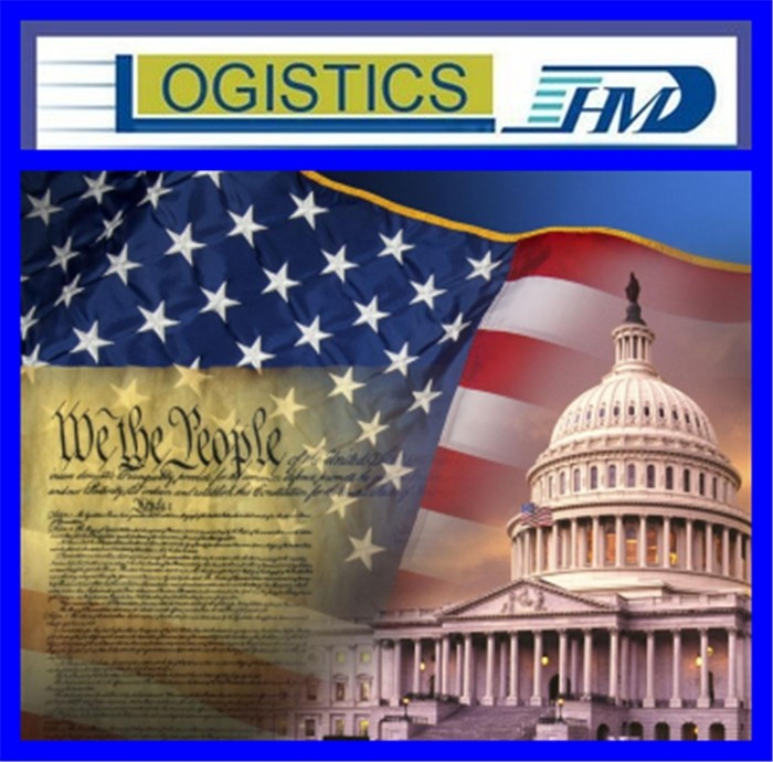 Freight forwarding from china to USA inland