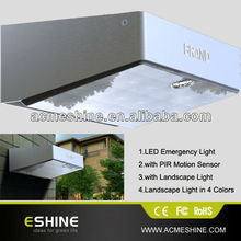 Emergency Exite Light LED with Motion Sensor