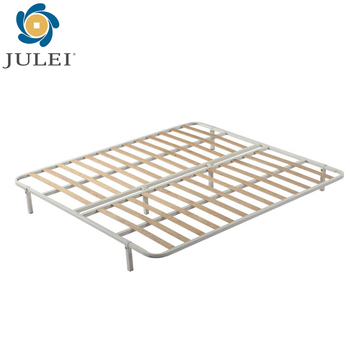 smart bed base strong tube platform metal slatted bed frame DJ-PC02