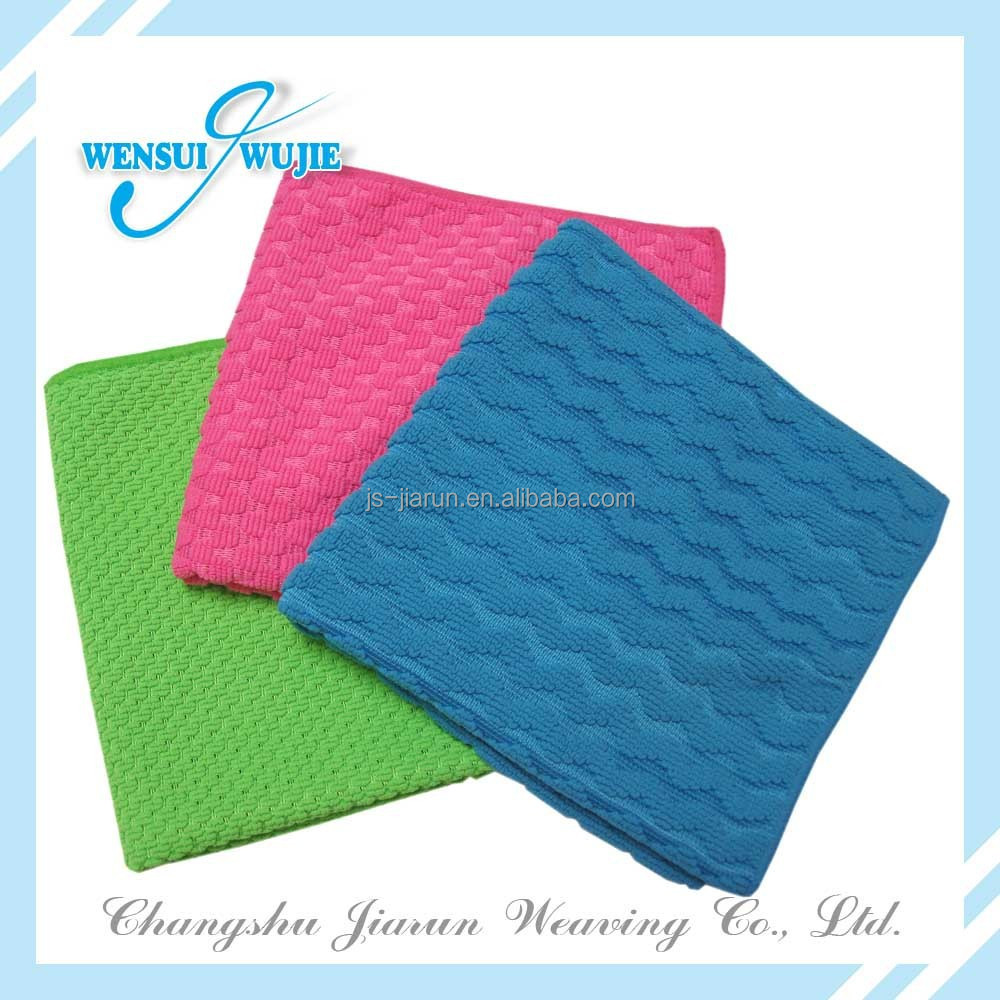 Factory directly sales window cleaning cloths industrial wiping rags