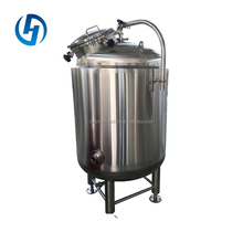 Various Size 500l stainless steel milk cooling beer brite tank