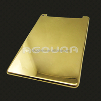 New for iPad mini 3 gold housing wifi 3G version, for iPad mini original housing, 24ct gold edtion back cover for iPad