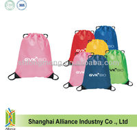 China Supplier 210D Polyester Cinch Backpack / Drawstring Gym Cinch Bag