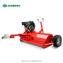 ATV120 flail mower with 15hp lifan engine