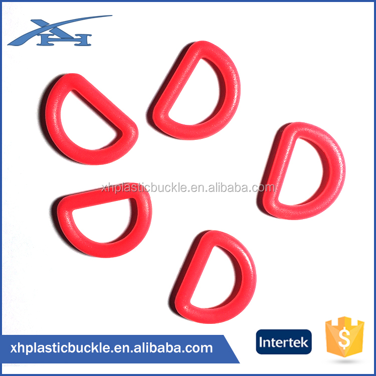 Plastic Fashion Oval Shape D Ring For Bags Accessories