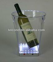 Light Up LED french champagne brands/ice bucket