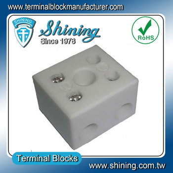 Heat Resistant Ceramic Porcelain Wire Terminal Block Connector
