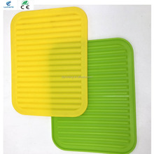 Wholesale New Arrival cooking ware Silicone Mat silicone table pad Washing dishes dry rack mats /bread Silicone dish for kitchen