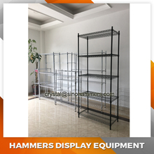 NSF chrome wire rack shelving, wire storage rack