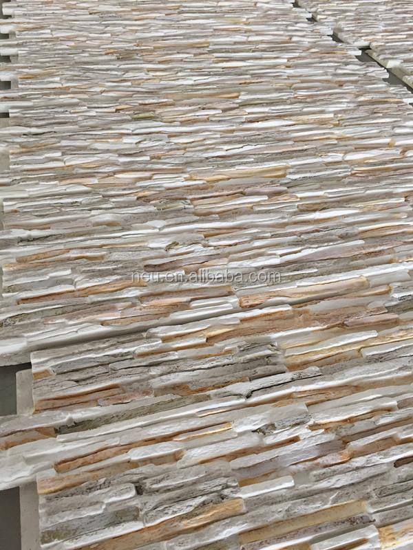 Pu faux stone panel waterproof fireproof stone panel 3d for Paneles poliuretano imitacion piedra precios