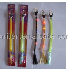 LED flashing hair braid Party Supply Flashing Hair Braid party pigtail