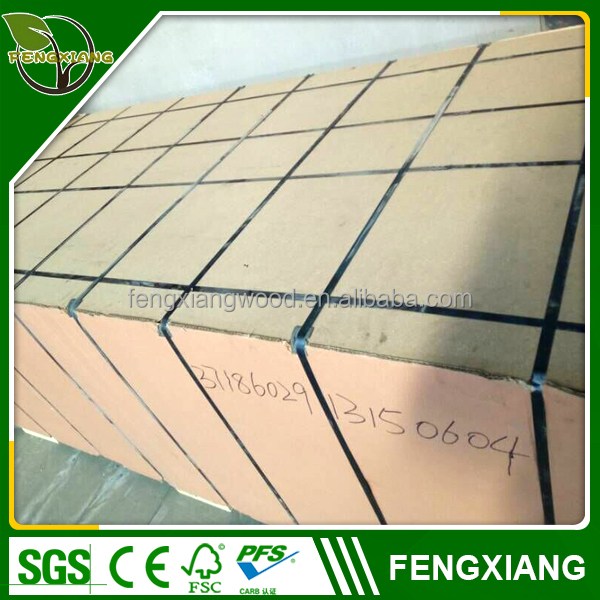 China top ten selling products plain mdf hdf/melamine mdf board