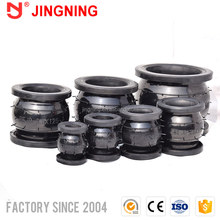 Galvanized german standard flanged ends expansion joint pipe joints concrete epdm rubber