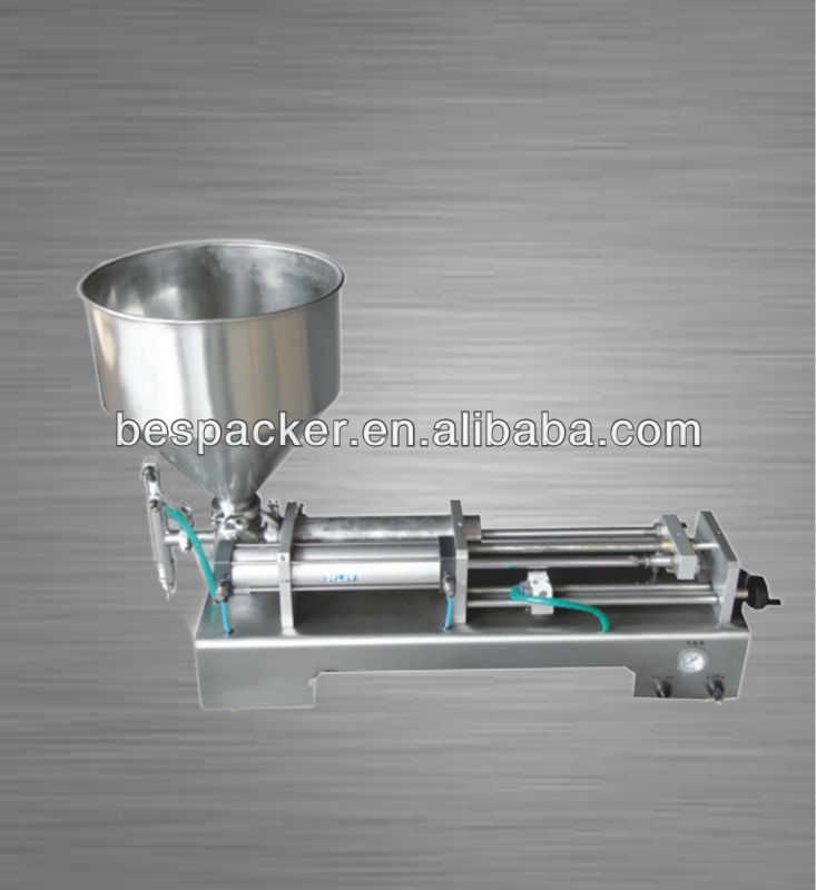 Semi auto vaseline hot filling machine with heater and hopper