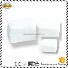 multity sizes surgical gauze swabs for wound packing , wound dressing