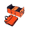 Folding multi functional thermal insulation travel bag for car
