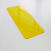 Solid plastic protection sheet for sunshine room roofing