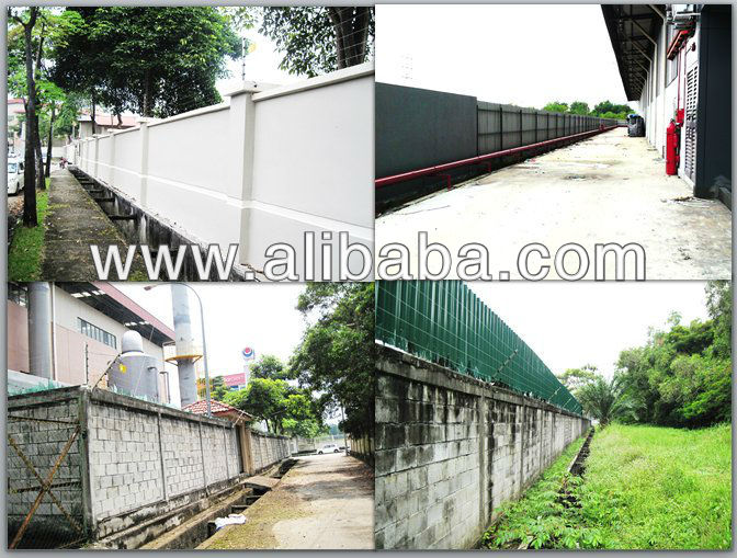 Factory Security Fence - Electric Fence System Installation, Malaysia