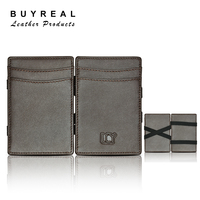 New Leather Men's Wallet LCY Brand Real Leather Magic Wallet