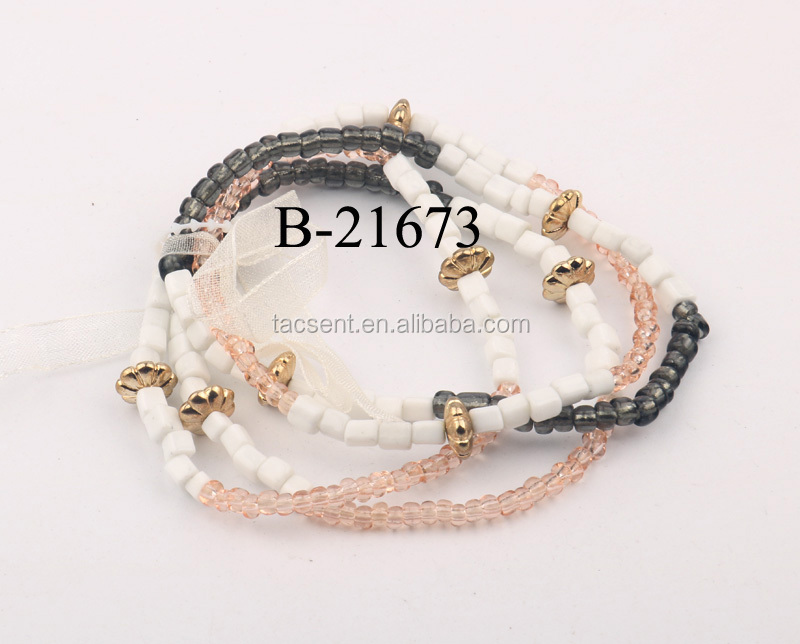 The original and natural crystal handmade beaded bracelet Fashion Women's accessories wholesale