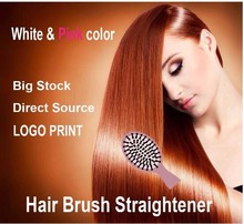 2016 Amazon hot selling professional rechargeable cordless hair straightener / hair straightener brush