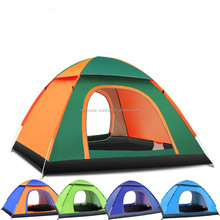 Waterproof Automatic Outdoor 3-4 Person Instant Camping Family Tent