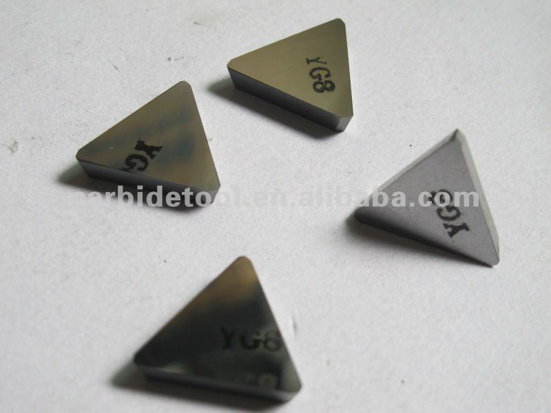 YG8 k20 tungsten carbide indexable milling inserts 3130511