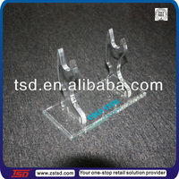 TSD-A401 Custom clear acrylic knife display stand,acrylic knife holder,acrylic knife display racks