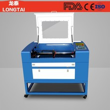 LT-460 small 6040 cardboard paper wood cnc co2 laser engraver cutter machine price
